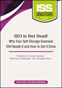 Picture of DVD Pre-Order - SEO Is Not Dead! Why Your Self-Storage Business Still Needs It and How to Get It Done