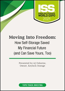 Picture of DVD - Moving Into Freedom: How Self-Storage Saved My Financial Future (and Can Save Yours, Too)