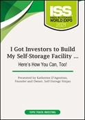Picture of DVD - I Got Investors to Build My Self-Storage Facility … Here's How You Can, Too!