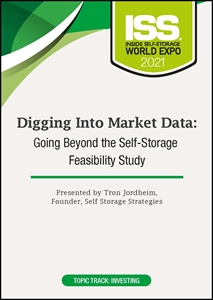 Picture of DVD - Digging Into Market Data: Going Beyond the Self-Storage Feasibility Study