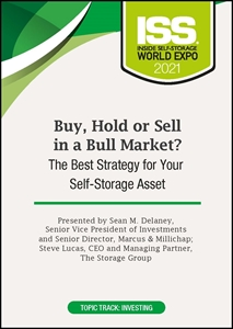 Picture of DVD Pre-Order - Buy, Hold or Sell in a Bull Market? The Best Strategy for Your Self-Storage Asset