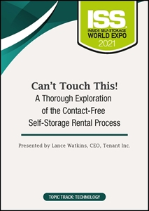 Picture of DVD Pre-Order - Can't Touch This! A Thorough Exploration of the Contact-Free Self-Storage Rental Process