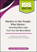 Picture of Market to the People Who Matter: Generating More Leads From Your Own Micro Market